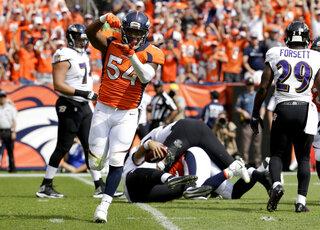 Raiders Broncos Football