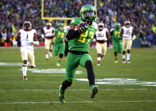 Oregon Carrington Football
