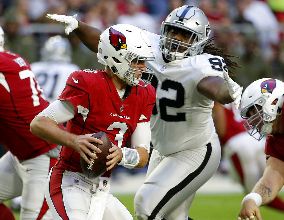 Raiders Cardinals Football