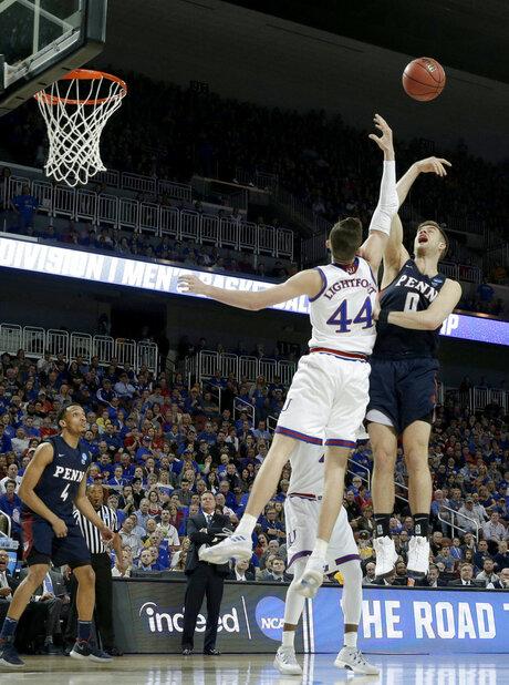 NCAA Pennsylvania Kansas Basketball