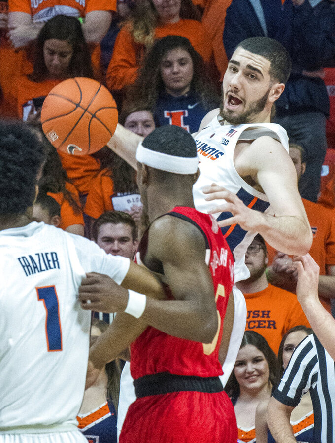 Illinois hands Nebraska its fifth straight loss 71-64