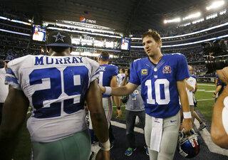 DeMarco Murray, Eli Manning