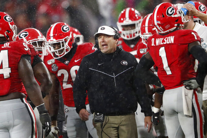 'Cocktail Party' serves as CFP elimination game for UGA, UF
