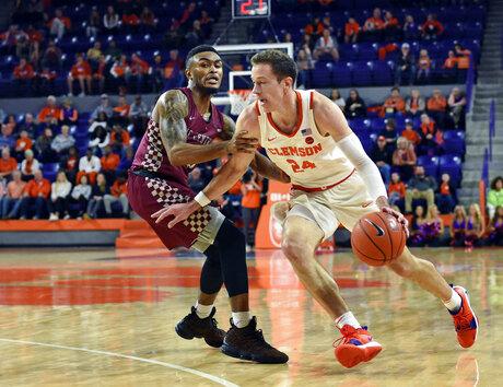 North Carolina Central Clemson Basketball
