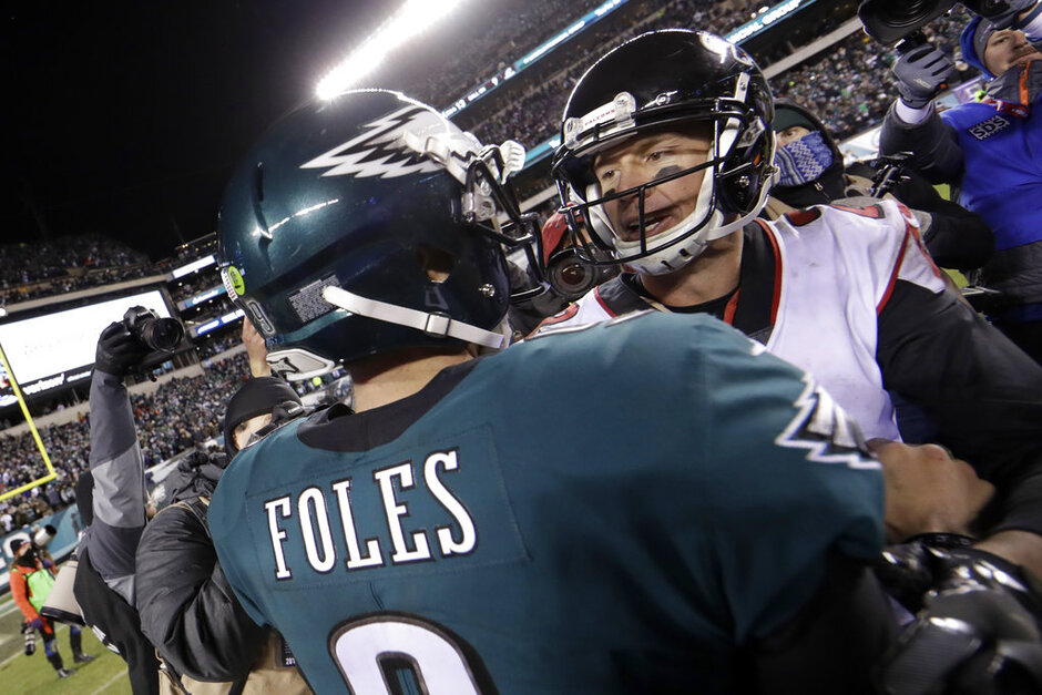 Matt Ryan, Nick Foles