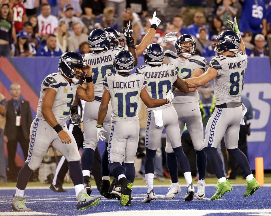 Seahawks Giants Football