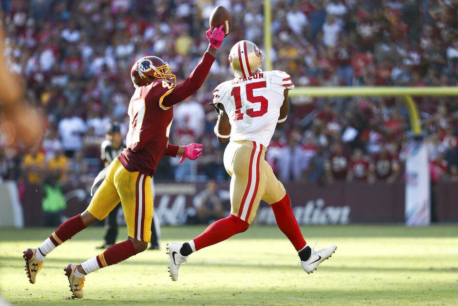 49ers Redskins Football