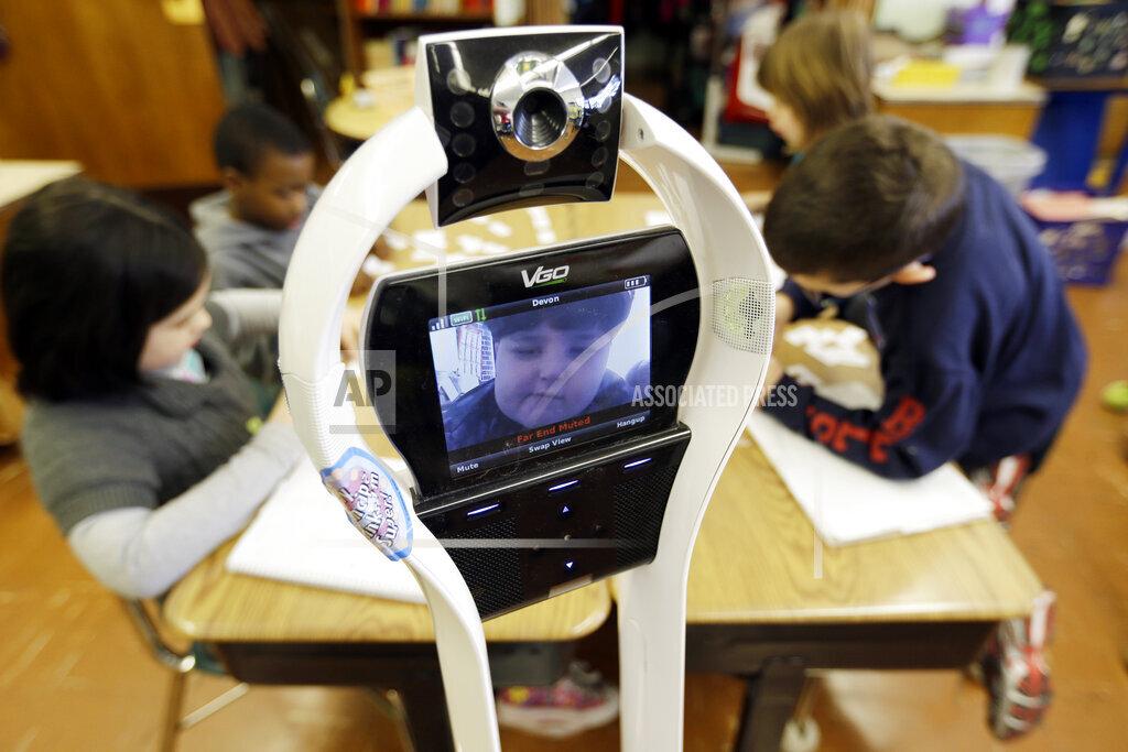 Robot In School