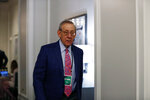 Miami Dolphins owner Stephen Ross arrives during the NFL owners meeting on Wednesday, May 22, 2019, in Key Biscayne, Fla. (AP Photo/Brynn Anderson)