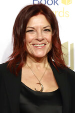 Rosanne Cash attends the 70th National Book Awards ceremony and benefit dinner at Cipriani Wall Street on Wednesday, Nov. 20, 2019, in New York. (Photo by Greg Allen/Invision/AP)