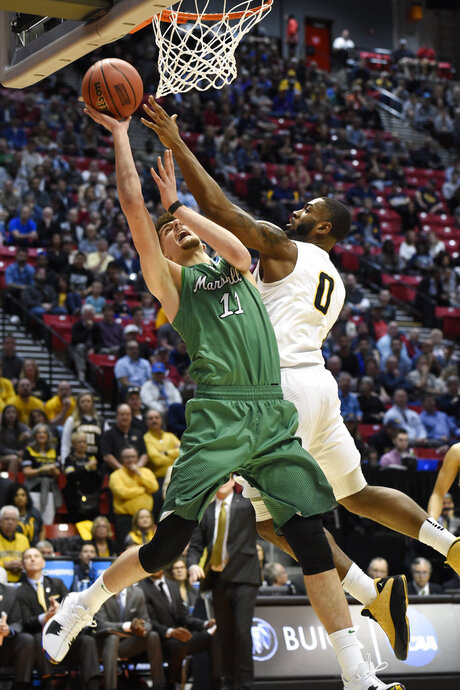 NCAA Marshall Wichita St Basketball