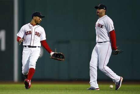 Mookie Betts, J.D. Martinez