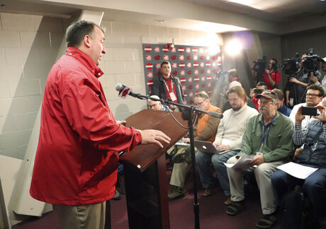 Missouri Arkansas Bielema Fired Football