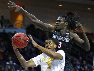 APTOPIX San Diego St California Basketball