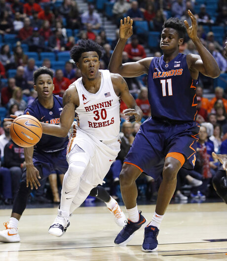 Illinois UNLV Basketball
