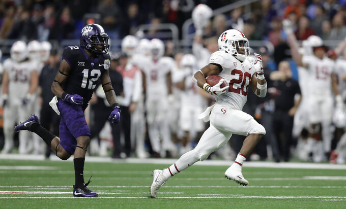 Bryce Love hopes to add new tricks for No. 13 Stanford