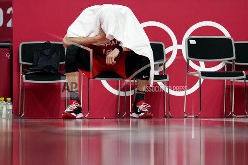 APTOPIX Tokyo Olympics Basketball