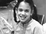 This undated photo provided by the Kamala Harris campaign in April 2019 shows her as a child at her mother's lab in Berkeley, Calif. (Kamala Harris campaign via AP)
