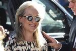 Meryl Streep Streep attends a premiere for