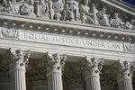 In this Nov. 4, 2020 file photo, The Supreme Court is seen in Washington. (AP Photo/J. Scott Applewhite)