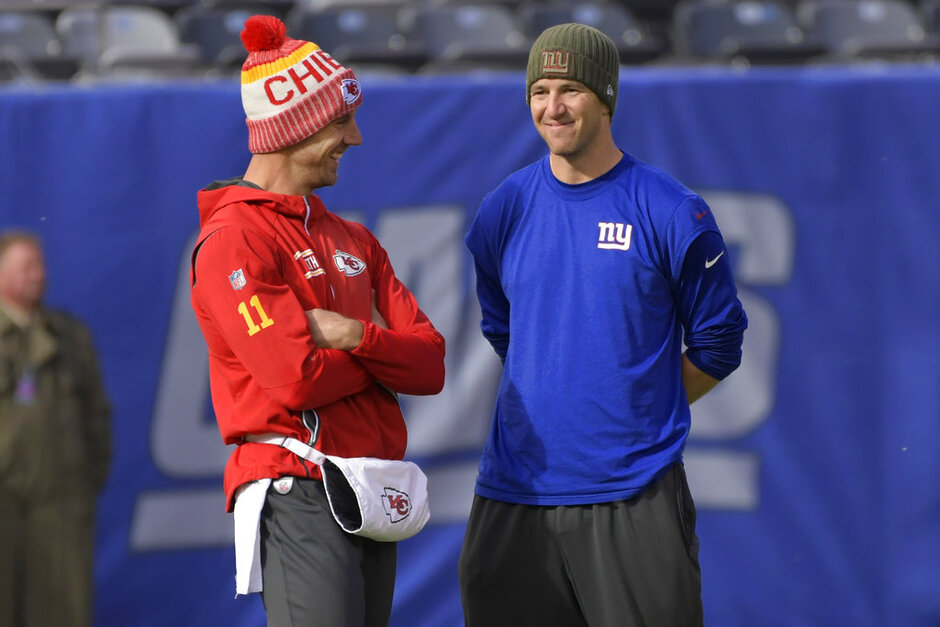 Eli Manning, Alex Smith