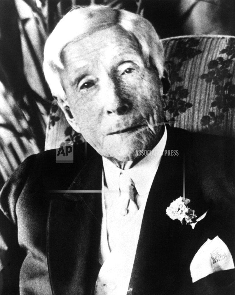 Watchf AP I  NJ USA APHSL16 John D Rockefeller 1935