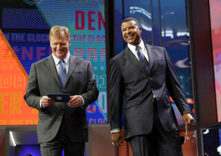 Roger Goodell, Stephen Atwater,