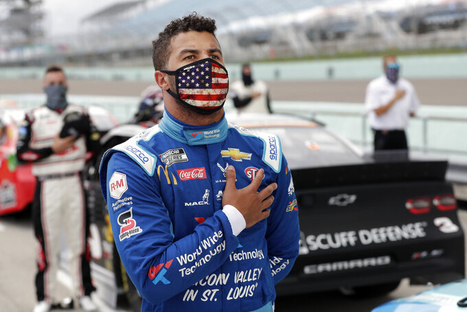 Noose found in stall of Bubba Wallace at Alabama NASCAR race