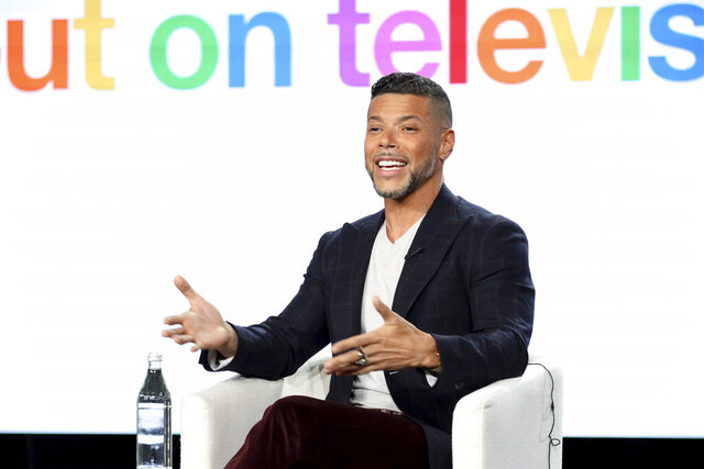 Wilson Cruz speaks at the