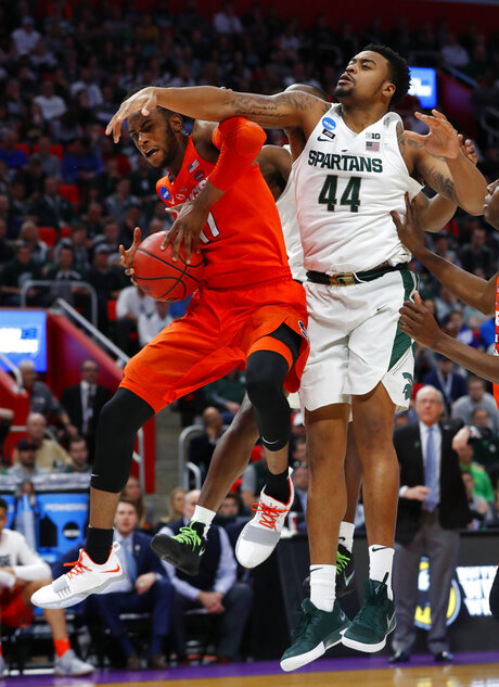 NCAA Syracuse Michigan St Basketball