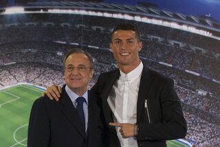 Cristiano Ronaldo, Florentino Perez