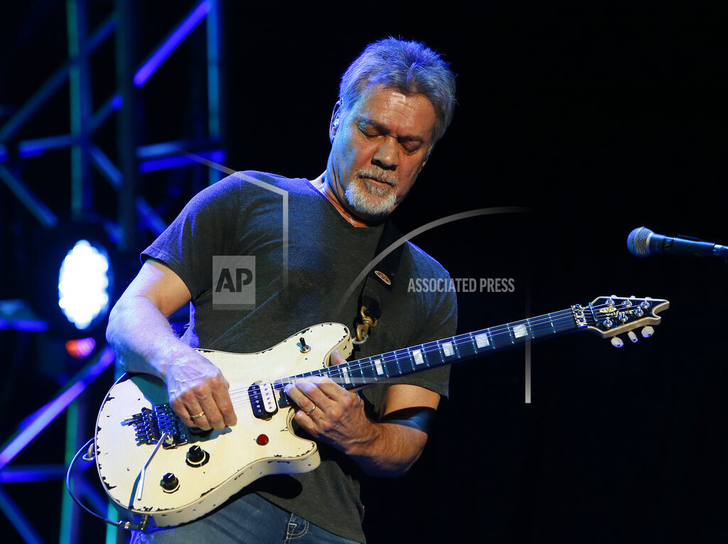 inVision Rick Scuteri/Invision/AP a ENT AZ USA INVW Van Halen in Concert - Phoenix, AZ