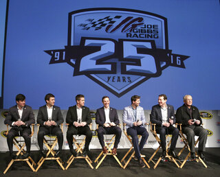 Joe Gibbs, Erik Jones, Daniel Suarez, Carl Edwards, Matt Kenseth, Denny Hamlin, Kyle Busch