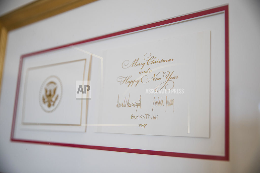 Trump White House Christmas