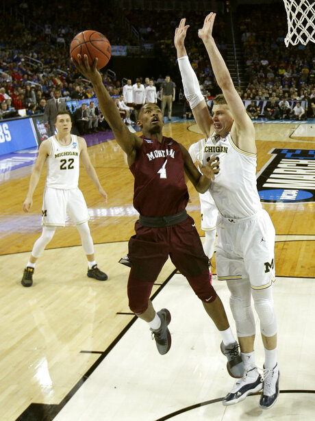 NCAA Montana Michigan Basketball