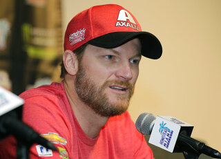 NASCAR Earnhardt Broadcaster Auto Racing