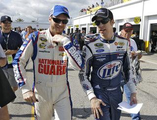 Dale Earnhardt Jr., Brad Keselowski