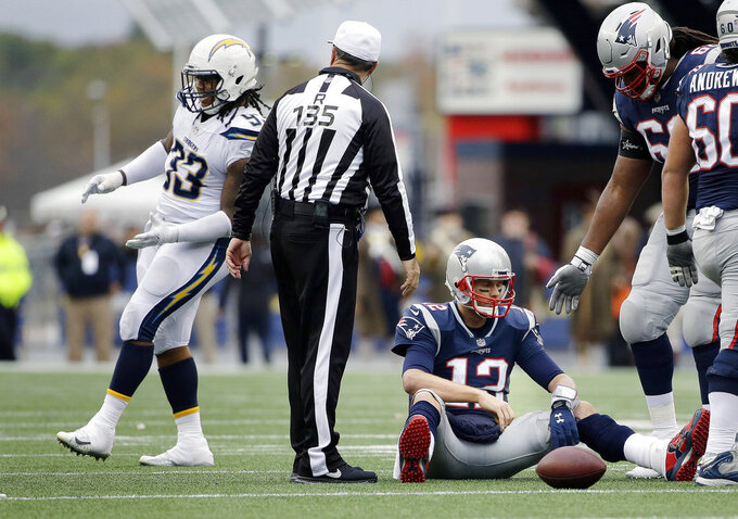 Los Angeles Chargers at New England Patriots 10/29/2017