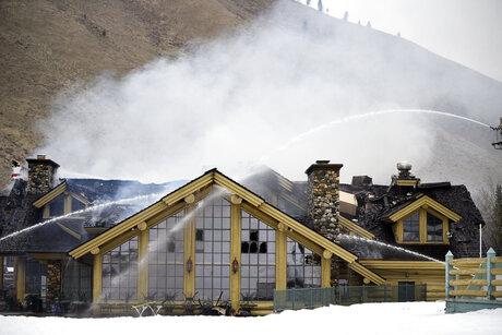 Ski Area Fire