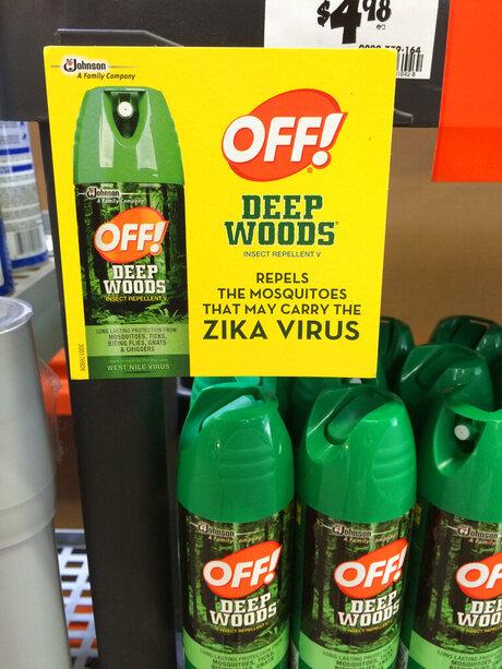 Zika Selling Fear