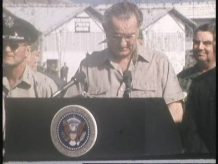 ABC Vietnam Demonstrations And LBJ With Troops: Part 5