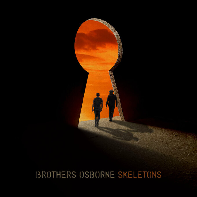 """This cover image released by EMI Records Nashville shows """"Skeletons,"""" a release by Brothers Osborne. (EMI Records Nashville via AP)"""