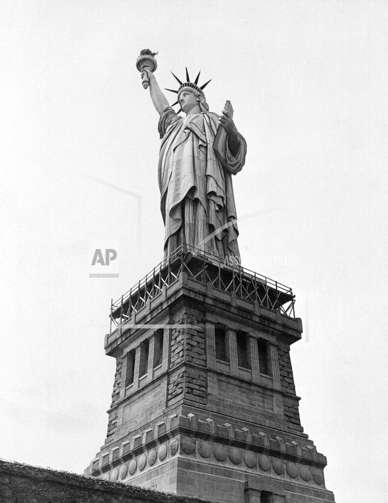 Watchf AP A  NY USA APHS336083 Statue Of Liberty 1930