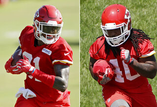 Chiefs WR Checkup Football