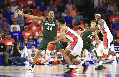Michigan St Florida Basketball
