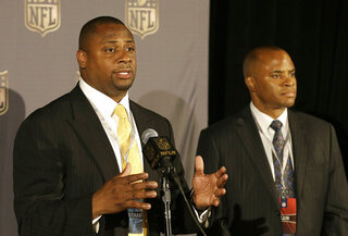 Troy Vincent, Rick Smith