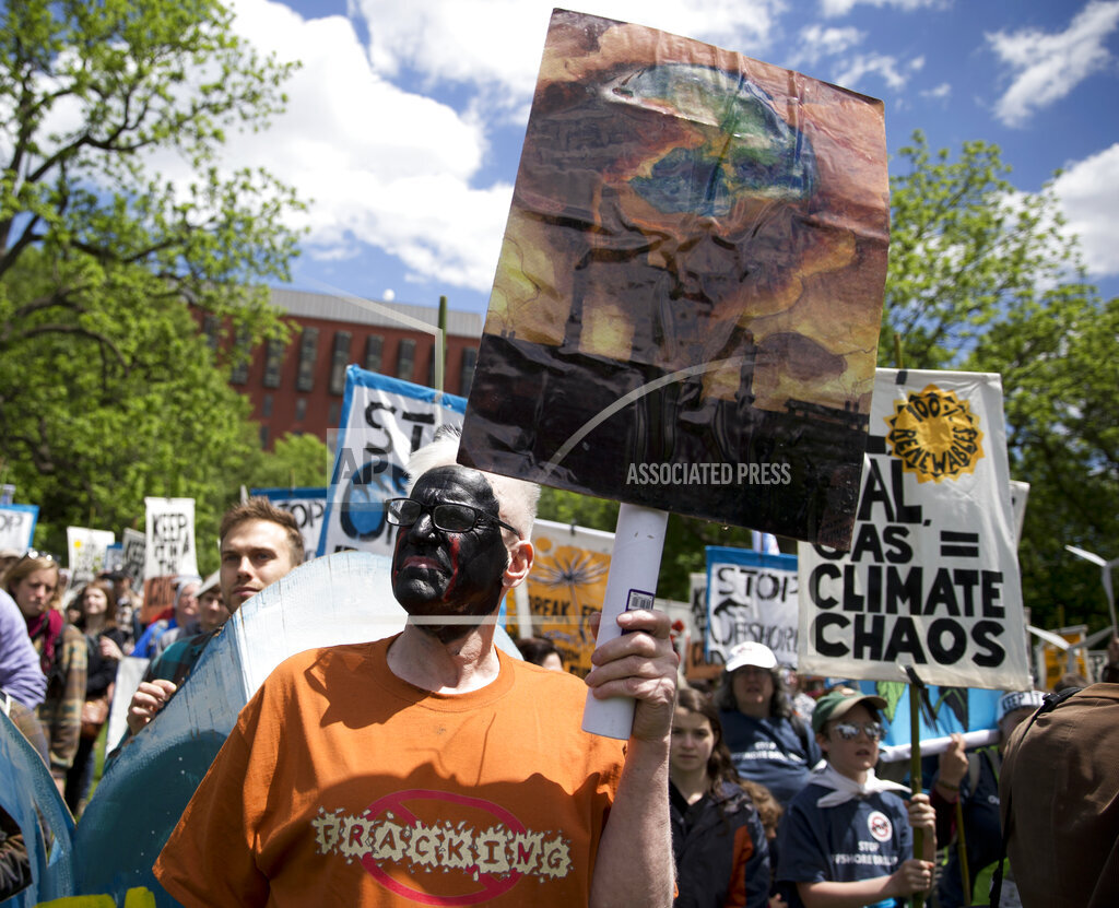 Offshore Drilling Protest