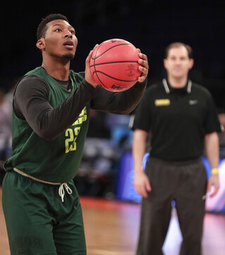 NCAA Baylor Basketball
