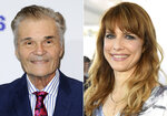 This combination photo shows actor Fred Willard at a special screening of
