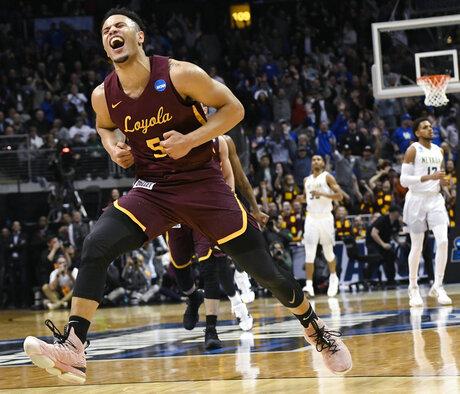 APTOPIX NCAA Loyola Nevada Basketball